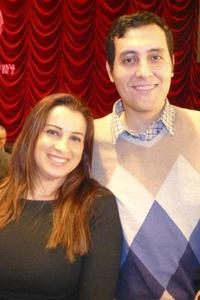 Mısırlı diplomat Bay Gainal ve eşi Maysa