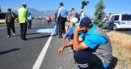 Manisa'da Korkunç Kaza