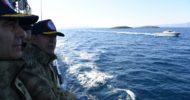 """21. Yıl Dönümünde Yunanistan Sularında """"Kardak Gerilimi"""""""