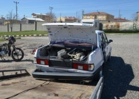 Diyarbakır'da Bombalı Eylemlerde Kullanılacak 1 Otomobil, 4 Motosiklet Yakalandı