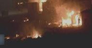Fransa'da Sığınmacı Kampında Yangın: En Az 10 Yaralı