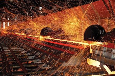 2012 ham çelik üretim oranları  Fotoğraf:demirçelik.com.tr