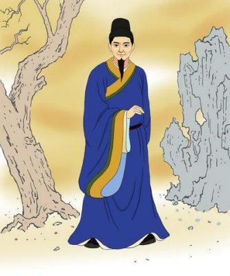 "Han Yu, ""Klasik Nesir Hareketi""nin Atası (Resimleyen: Zhiching Chen / Epoch Times)"