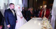 Başbakan Yıldırım Yeğenin Nikah Şahidi Oldu