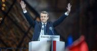 Macron'un Sembol Dolu Kutlaması