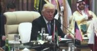 Trump, Arap İslami Amerikan Zirvesi'ne Katılıyor
