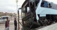 AK Parti Kongresine Partilileri Taşıyan Otobüs Polatlı'da Kaza Yaptı: 32 Yaralı