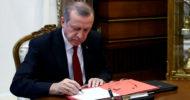 Cumhurbaşkanı Erdoğan 7033 Sayılı Kanunu Onayladı