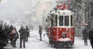 İstanbul'da Kar Uyarısı