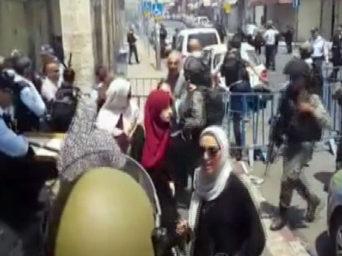 Filistinliler İle İsrail Güçleri Arasında Çatışma Çıktı