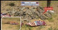 PKK'ya Darbe: 1 Ton Amonyum Nitrat Ele Geçirildi