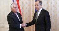 Lavrov Ve Tillerson, Suriye Konusunu Görüştü