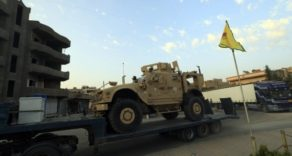 ABD'den YPG'ye 120 Tırlık Ağır Silah Yardımı Ve Zırhlı Araç Sevkiyatı