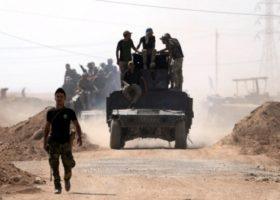 Irak ordusu DEAŞ'ı Ramadi'den Çıkardı