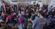 ABD: Uluslararası Havaalanında Elektrik Kesintisi Uçuşlar İptal
