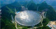 Çin Dünya'nın En Büyük Radyo Teleskobunu Devreye Soktu