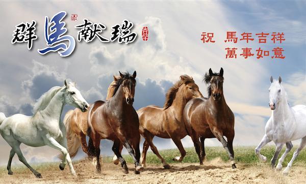 At Yılında İyi Dileklerle! (Betty Peng/Epoch Times)