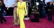 2013 Oscar Kıyafetleri Kırmızı Halıda (Fotoğraflar)