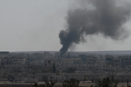 Kobani'de çatışmalar şiddetlendi (Fotoğraf: İHA)
