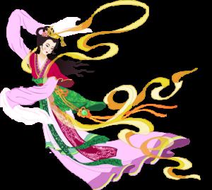 Chang E aya doğru uçuyor (Wendy Huang, Epoch Times)