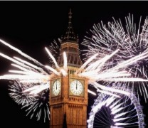 Londra Big Ben Saat Kulesi ve 2012