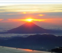 Fuji Japonya- All Nippon Airways ile yılbaşı günü