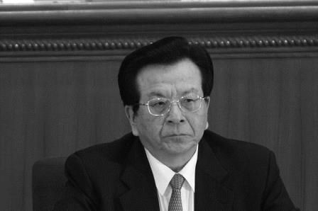 Pekin, Mart 2007- Çin eski Başkan Yardımcısı Zeng Qinghong, Ulusal Halk Kongresi genel kurul toplantısında (Foto:Andrew Wong / Getty Images)