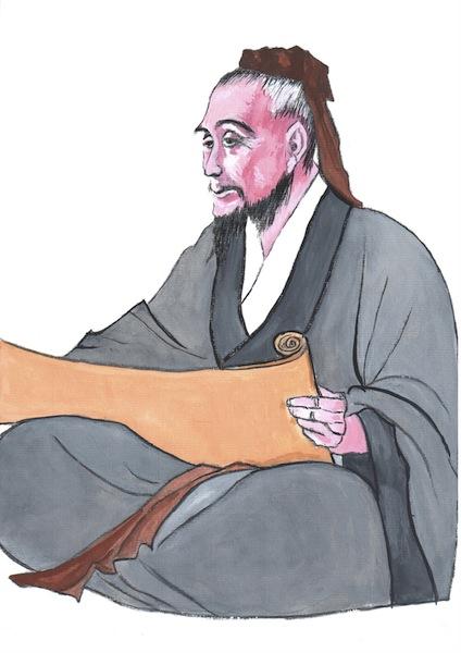 illüstratör: Kiyoka Chu, Zhang Zhongjing, Çin Tıbbının Pîrî