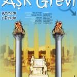"""Tiyatro OBJEKTİF'in Yeni Oyunu """"AŞK GREVİ"""" Ayvalık Sanat Fabrikası'nda"""