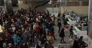 Atatürk Havalimanı'nda Yarıyıl Tatili Yoğunluğu