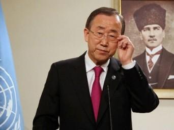 """Ban Ki-moon: """"Bu Çatışmalar Diyaloglar Sayesinde Halledilebilir"""""""