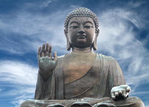 HonK Kong'taki  Tian Tan Buda heykeli. (Shutterstock)