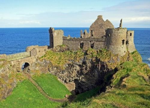 Dunlece Kalesi, İrlanda