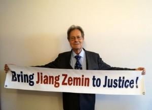 Prof. Dr. Klaus Buchner, Jiang'a karşı açılan davalara daha fazla destek çağrısında bulundu