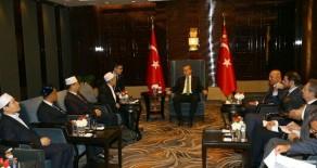 Cumhurbaşkanı Erdoğan Çin-İslam Cemiyeti Temsilcileriyle Görüştü