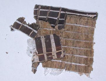 Ekomya, Dilimlenmiş ağaç kabuğu