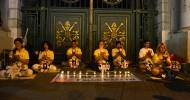 ÇKP'nin Falun Gong'a Karşı Sürdürdüğü 15 Yıllık Zulüm Taksim'de Protesto Edildi