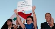 Fransa'da Protesto: Biz Savaş İstemiyoruz