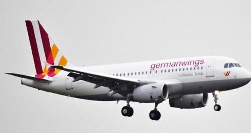 Alman hava yolu şirketi Lufthansa'ya bağlı Germanwings'e ait uçak Fransa'da düştü (Fotoğraf: İHA)