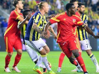 Fenerbahçe 3-3 Kayserispor (Fenerbahçe-Kayserispor Maç Özeti)