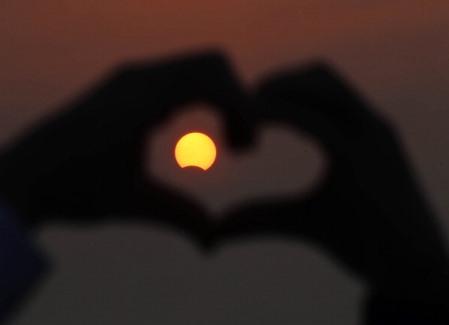 Kuveyt'teki Güneş tutulması