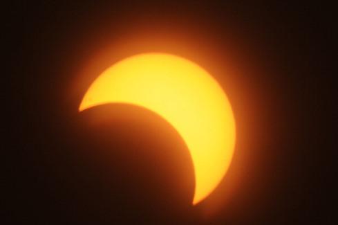 03 11 13 Sudan'da güneş tutulurken (EBRAHIM HAMID/AFP/Getty Images)-sudan