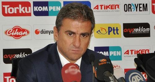 Galatasaray Teknik Direktörü Hamza Hamzaoğlu (Fotoğraf: İHA)