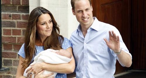 Prens William ve Cambridge Düşesi Kate Middleton'ın ikinci bebekleri dünyaya geldi. (İHA)