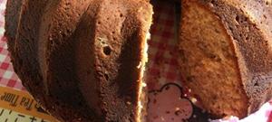 Taze Cevizli Tarçınlı Kek