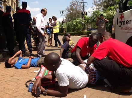 Kenya'da alışveriş merkezine saldırı Fotoğraf:İHA