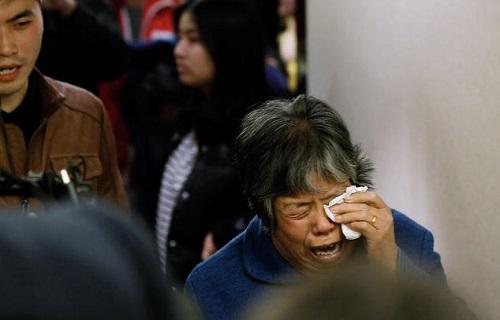 Kaybolan Malezya Havayolu uçağı MH370'un yakınları (Fotoğraf: Lintao Zhang / Getty Images)