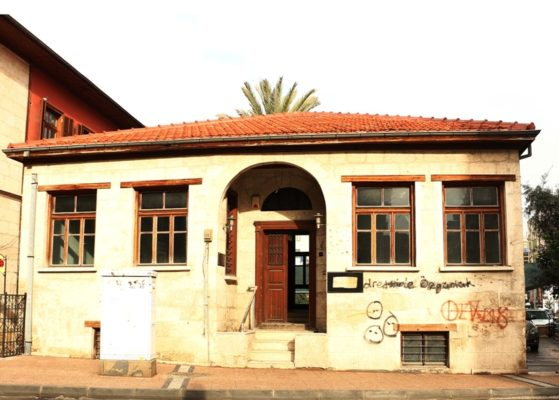 Türkiye Roman Hakları ve Araştırmaları Merkezi'nin hizmet vereceği tarihi bina (Fotoğraf: Halil Atar)