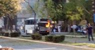 Son Dakika! Mersin'de Polis Servis Aracına Bombalı Saldırı! Çok Sayıda Polis Memuru Yaralı