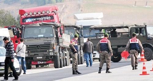 MİT Tır'ları olayında 34 askere gözaltı kararı çıktı. (İHA)